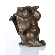 Animal Craft High Quality Raccoon Bronze Sculpture Statue Tpal-048
