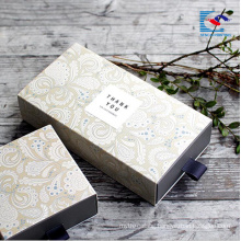 customs design high quality printing corrugated paper box for travel soaps with EVA insert