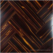 Assoalho estratificado absorvente do som da cereja do espelho de 12.3mm E0 HDF