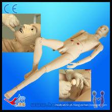 Advanced Medical Full-functional Elderly Male Patient Model modelo médico de enfermagem masculino manequim humano