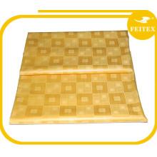 En gros Africain Coton Fil Populaire Tissu Tissu Bazin Riche Guinée Brocade Africain Textiles Pour Noce FEITEX