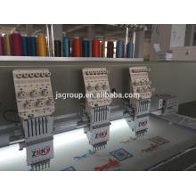 Máquina pequena do bordado do computador de JINSHENG para cortinas, sapatas, camisas de t