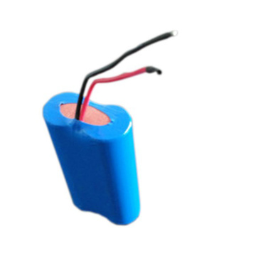 Vente chaude 18650 1S2P 3.7V 7500mAh Lion Battery