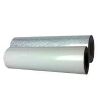 Yanyan wholesale white silver glitter htv vinyl heat transfer assorted colors digital  for fabric T-shirts