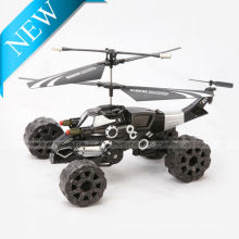 2014 Neueste 3.5CH Land und Luft Amphibious RC HELICOPTER Mit Bullet-Shooting-Funktion