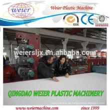 Kunststoff PVC Board Extrusion Linie testen