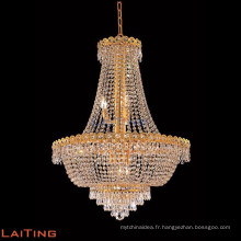 Empire crystal chandelier gold chandelier made in China
