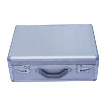 Caja de aluminio caja de herramientas de aluminio caja de herramientas para el ordenador portátil y documentos