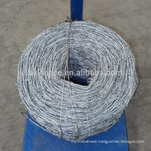 High quanlity cheap price barbed wire,galvanized barbed wire price per roll,military barbed wire for sale