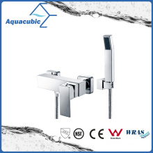 Wall Mount Chromed Single Handle Shower Brass Faucet (AF6010-4)