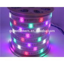 Nouveau produit pleine couleur SMD2835 96led AC220v 240 v led bande lumière avec bon prix flexible bande led