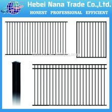 aluminum railing systems black aluminum fence / China low price pecessed aluminum fence