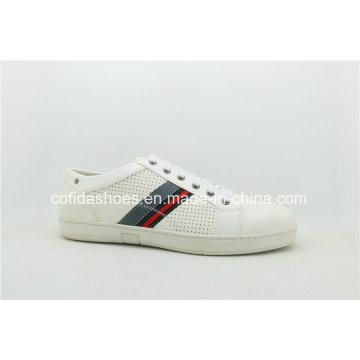 Art und Weise weiße Männer Turnschuh-Schuhe