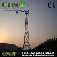 30kw Low Speed Horizontal Wind Turbine with FRP Blades