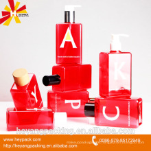 skin care plastic cosmetic bottle