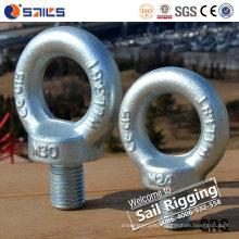 M33 Forged Carbon Steel Galvanized Eye Bolt DIN580