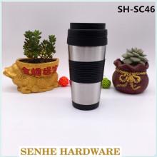 Flacon à vide en acier inoxydable 450 ml, tasse de voyage automatique (SH-SC46)