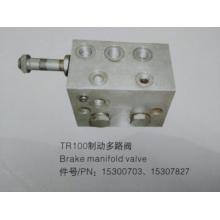 Vanne de collecteur de frein Terex tr100 15300703/15307827