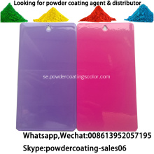 Anti Scratch Resistant Anti Graffiti Powder Coating