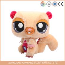 Brinquedos de pelúcia personalizados Animal Cartoon personagem brinquedo macio