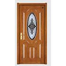 Современный Дизайн Твердой Древесины Композитный Краской Дверь