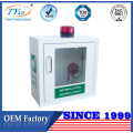 TUV CE certificated indoor wall mounted cabinet for AED Defibrillator