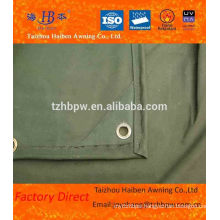 Quality Reinforced Waxed Fabric PVC Tarpaulin