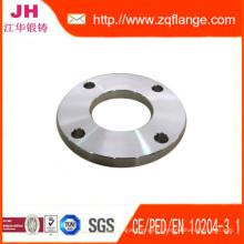Pl en acier au carbone forgé plaque bride Pn6 En1092-1 Type01