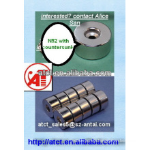 Magnet with Countersunk