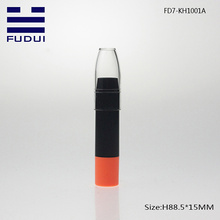 New empty plastic lipstick tube packaging for cosmetic