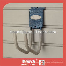 Lattenwand Lagerung Twin Long Hook Display Wandpaneel