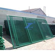 Хорошее качество & низкой цене ПВХ покрытием кадра забор безопасности