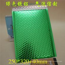 Kunststoff Farbe Blase Tasche / Umschlag mit Bubble