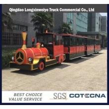 Diversión tren eléctrico turístico sin rieles