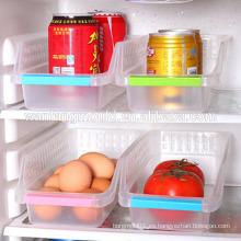 Caja de almacenamiento de plástico del refrigerador moldes de la cesta de almacenamiento de alimentos y bebidas cesta de almacenamiento de cajones huecos moldes empresa empresa