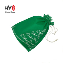 designed style pocket non-woven drawstring bags with zipper