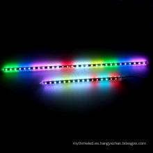 La luz llevada multicolora del tubo de Rgb llevó la luz de la ducha del meteorito de la Navidad, tubo llevado del pixel de Dmx, iluminación de la etapa