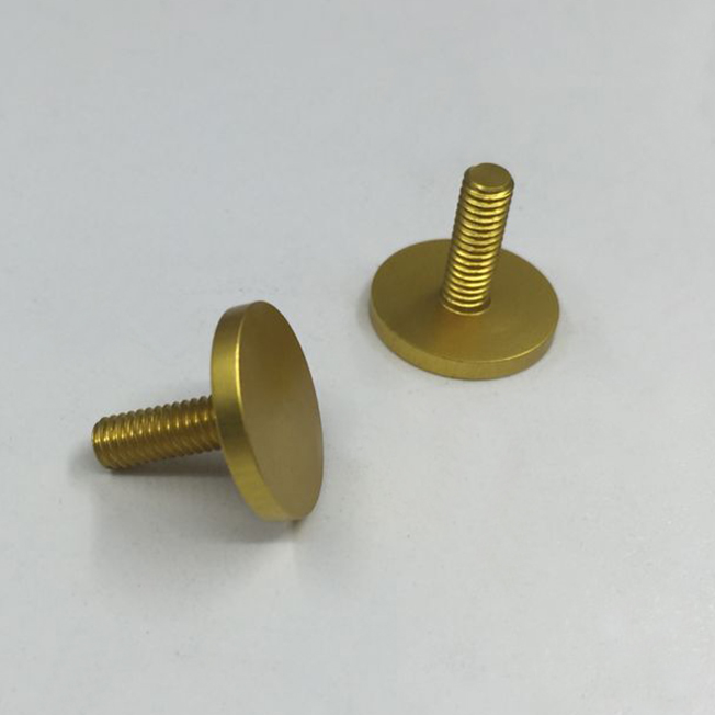 gold anodized aluminum
