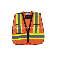 new design high visibility reflective safety vest