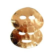 Trockene goldene Gesichtsmaske Gold Gesichtsmaske