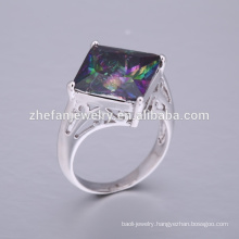 Wholesale man 925 silver jewelry diamond ring cheap price high margin ring