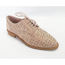 Zapatos con cordones perforados para mujer Brogue Wingtip
