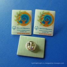 Pin офсетной печати, знак эпоксидной клейкой конкуренции (GZHY-OP-005)