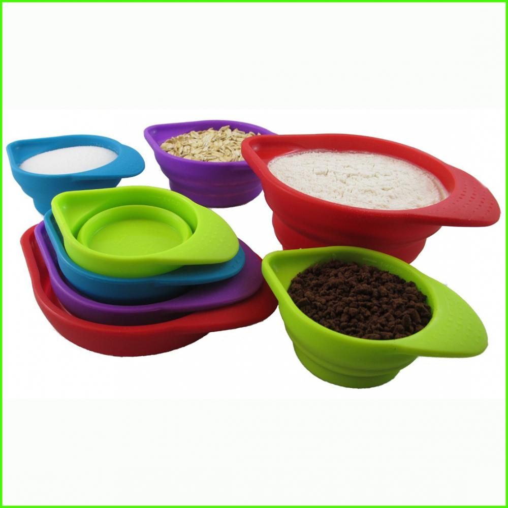 Stackable Silicone Measuring Bowl