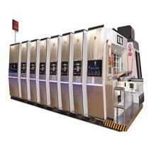 Vacuum Transfer 4 colors print die cut machine 1200x2400mm