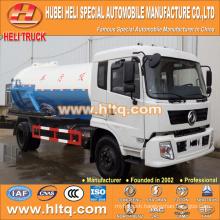 DONGFENG 4x2 10000L sewage tank truck 190hp hot sale