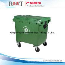 Caixote do lixo plástico / caixote do lixo com roda