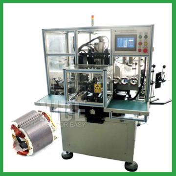 Automatic two poles stator coil making machine