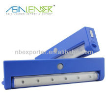 Luz solar del sensor de la seguridad LED / luz del gabinete 6LED
