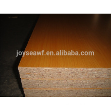 1220*2440mm melamine laminated particle board/melamine particle board in sale/melamine particle board for outdoor usage